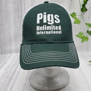 Pigs Unlimited International Truckers Hat
